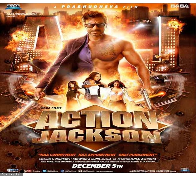 Action Jackson (2014) HDRip Full Video Songs 720P HD