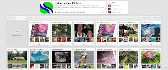 Hidden Valley RV Parks Pinterest Page