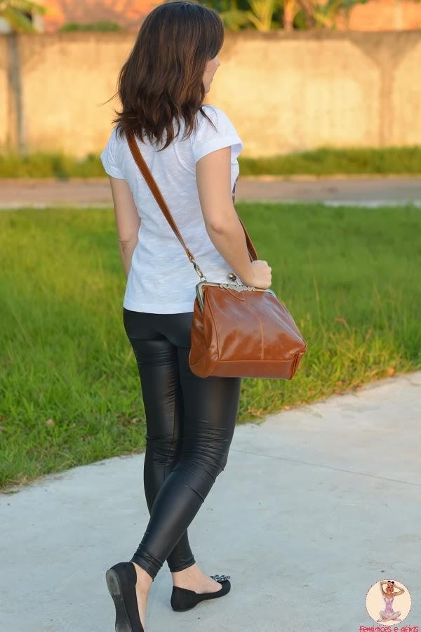 Look Legging + Bolsa Vintage