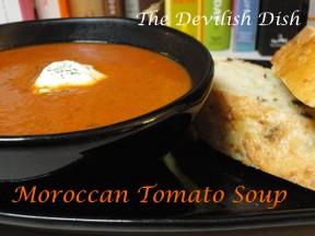 The Devilish Dish: Moroccan Tomato Soup