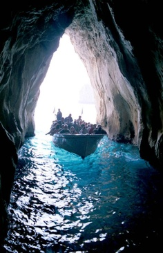 The Blue Grotto,Capri,Italy