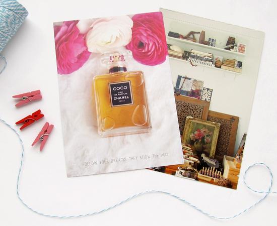подарок от Юли, gift postcard