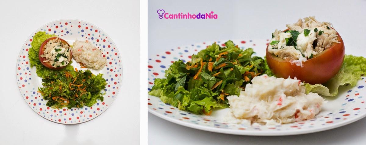 Tomate recheado do Cantinho da Nia; fotografia de gastronomia, por Benevenuto Studios (www.benevenutostudios.com)