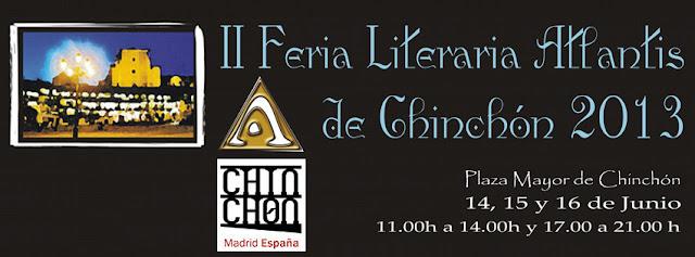 II Feria Literaria Atlantis de Chinchón 2013