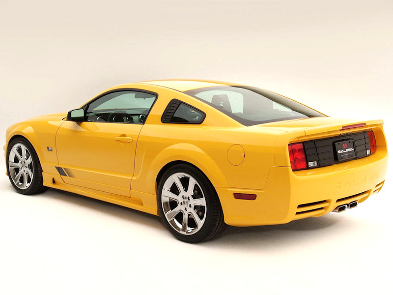 q8 mustang saleen bodykit. Black Bedroom Furniture Sets. Home Design Ideas