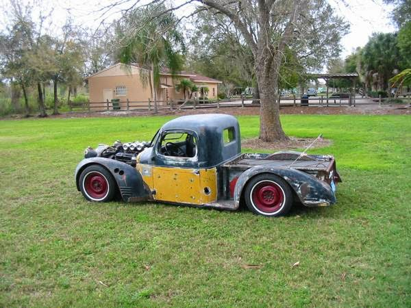 1939 plymouth rat rod pickup truck auto restorationice. Black Bedroom Furniture Sets. Home Design Ideas
