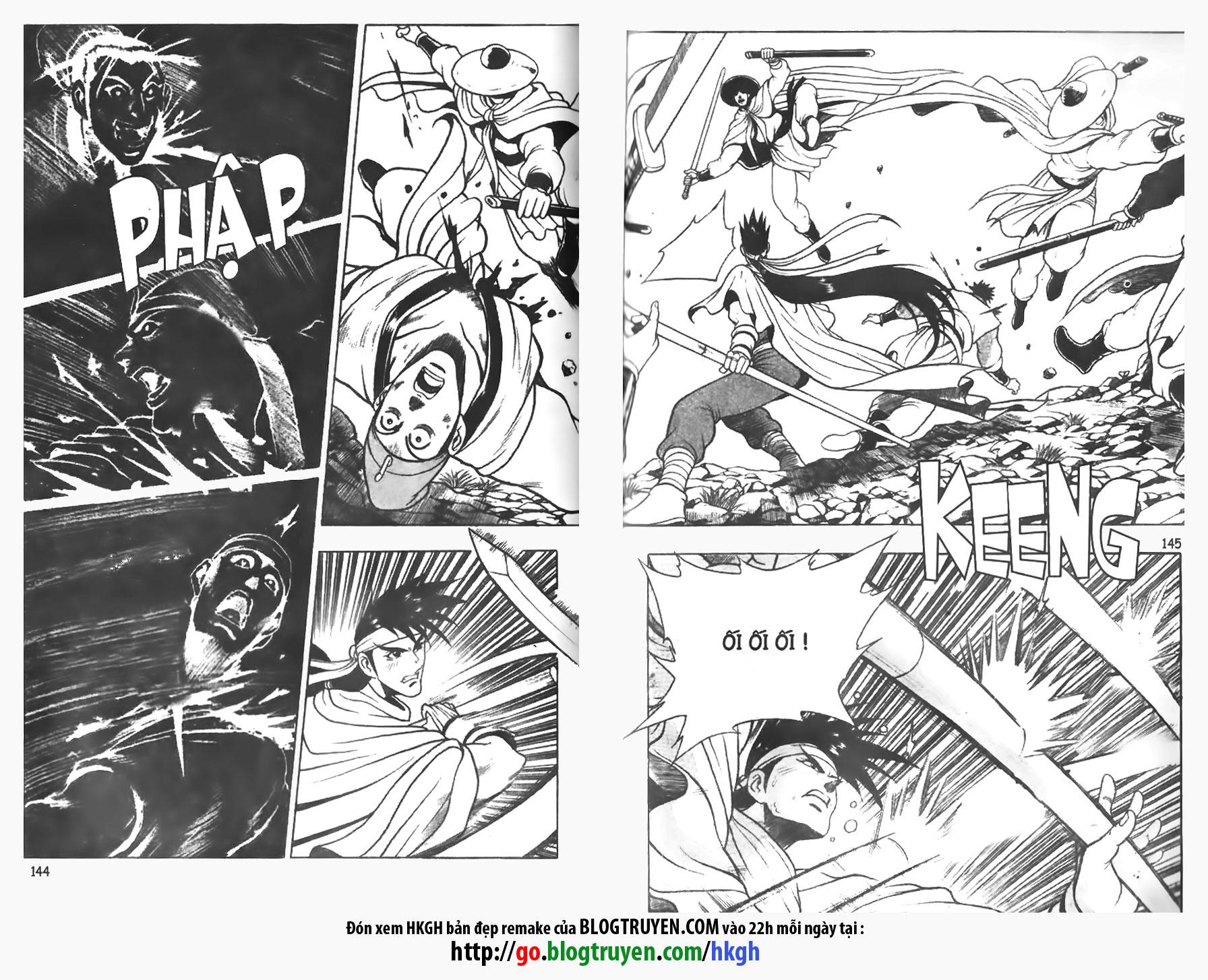 Hiệp Khách Giang Hồ - Hiệp Khách Giang Hồ Chap 081 - Pic 10