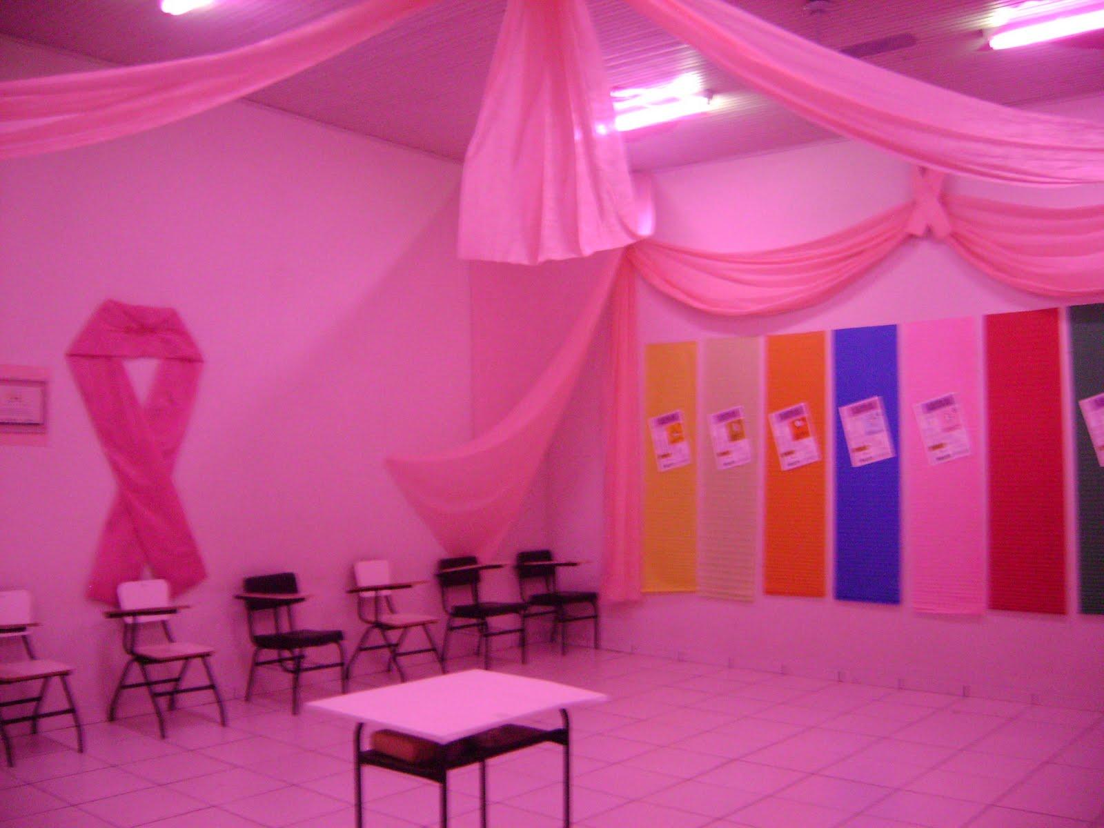 Movimento Nós Podemos Paraná Facinor participa do Outubro Rosa -> Decoração Outubro Rosa Simples