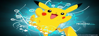 couverture facebook timeline pikachu