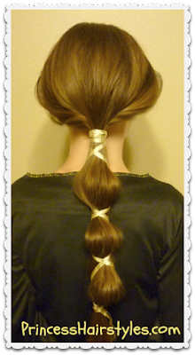 Queen Elinor from brave hairstyle tutorial