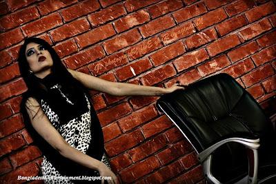 Bangladeshi actress Jakia Kamal Moon