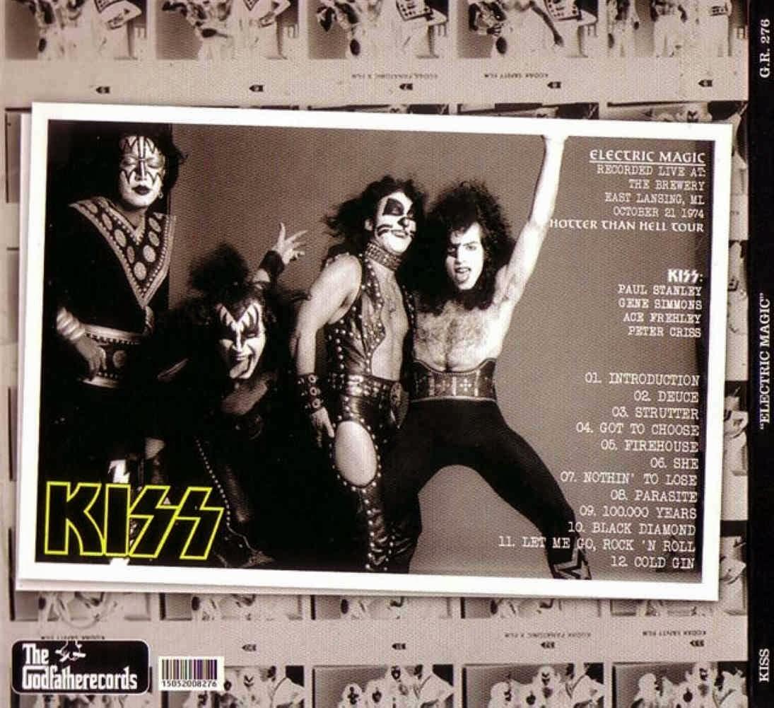 T.U.B.E.: Kiss - 1974-10-21 - East Lansing, MI (SBD/FLAC)