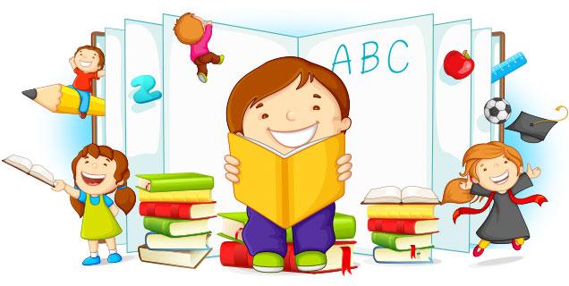 Resultado de imagen para niños de preescolar animados