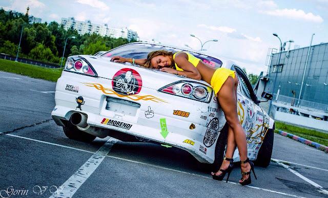 Nissan Silvia S15, laski, dziewczyny, sportowe auta