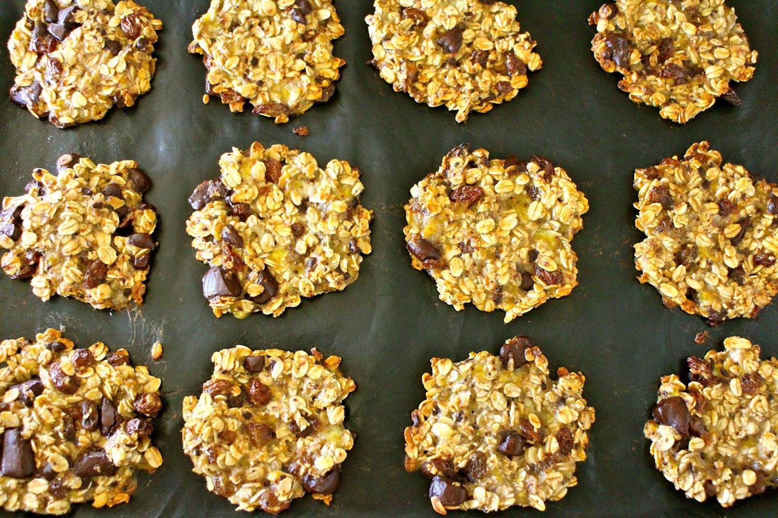 banan havregryn muffins