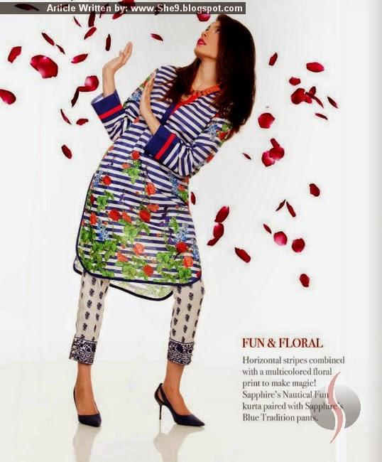 Valentine Kurti Dresses by Khadijah Shah