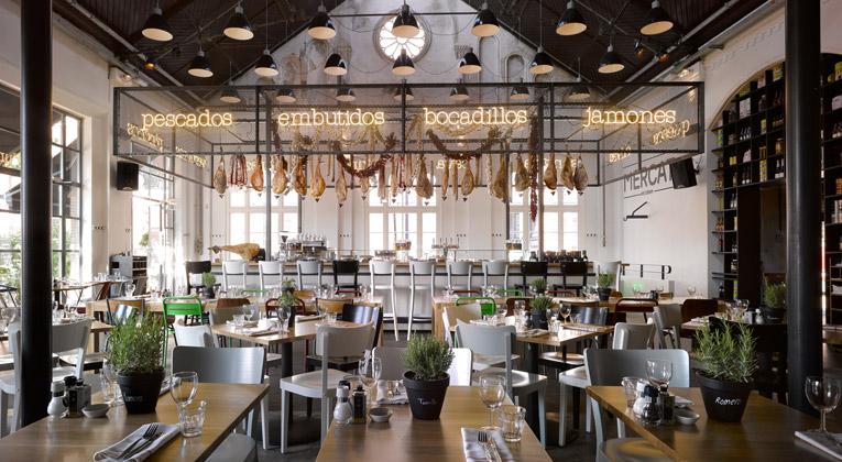 NEST OF PEARLS The Eclectic Revamp Of Mercat Restaurant
