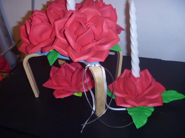 Centros de mesa con flores centros de mesa con flores for Centros de mesa artificiales
