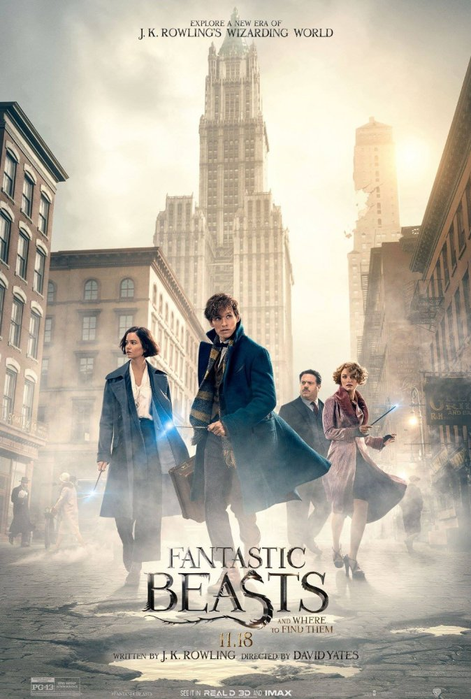 Nonton Fantastic Beasts and Where to Find Them (2016)