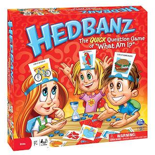 [Spin Master Games] HedBanz Game Reviews