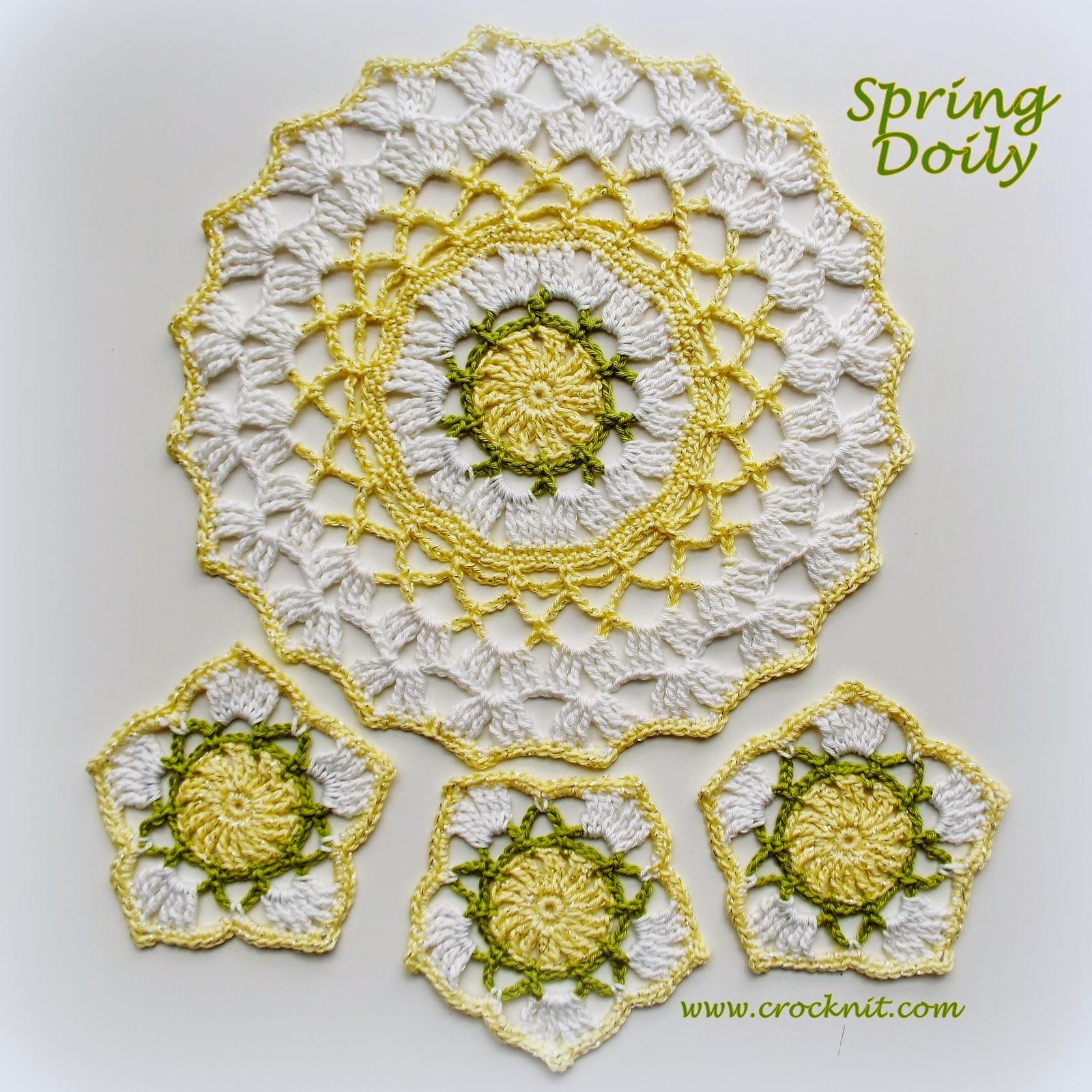 spring doily crochet pattern