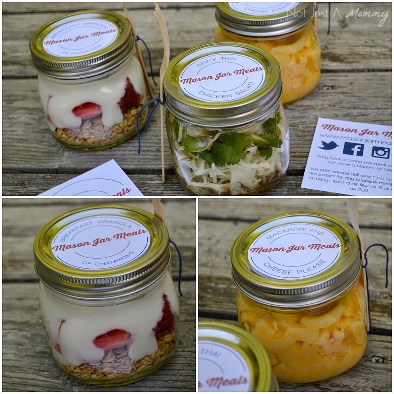 Mason Jar Meals labels