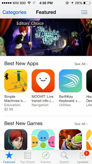 iOS app မ်ား ျမန္မာျပည္တြင္ ေခတ္စားရန္လို
