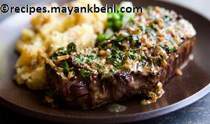 steak-au-poivre recipe