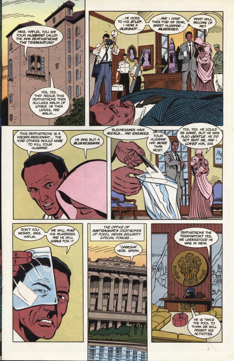 Deathstroke (1991) Issue #31 #36 - English 12