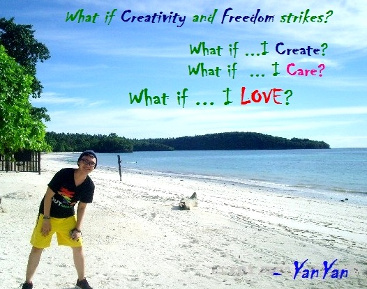 What iF ...I Create? What iF ...I Love?? What iF???