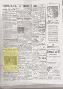BERGAMO REPUBBLICANA 10 NOVEMBRE 1944