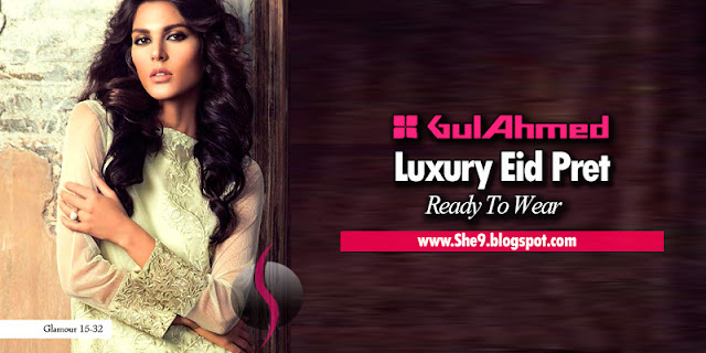 Gul Ahmed Ready To Wear Eid Collection 2015