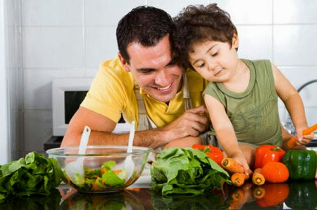 La alimentación vegetariana en los niños
