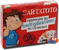 Cartatoto apprendre les multiplications en s'amusant