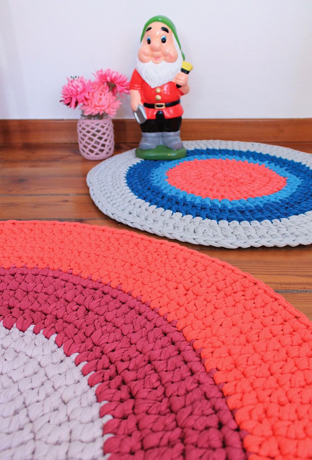 Preferenza Lorendesign: Nuovi tappeti crochet nella mia casa ZE31