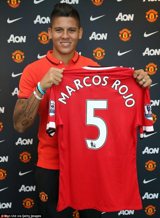 Marcos Rojo Sertai Manchester United