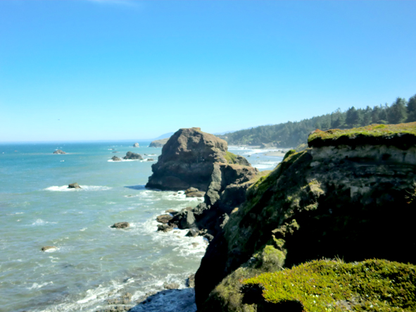 Rugged coastline, Oregon