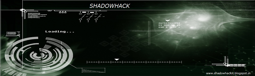 ShadowHack Tech-World