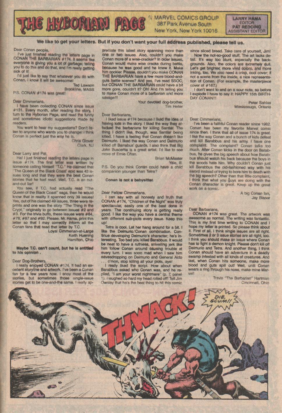 Conan the Barbarian (1970) Issue #178 #190 - English 24