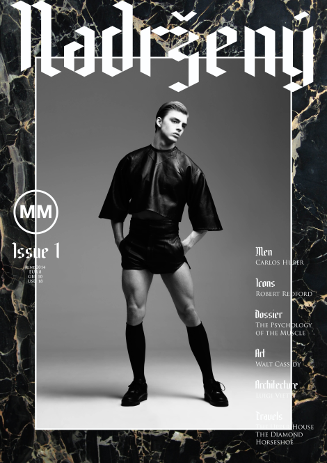 M|M Magazine Issue 1 Cover with Daan Van Der Deen