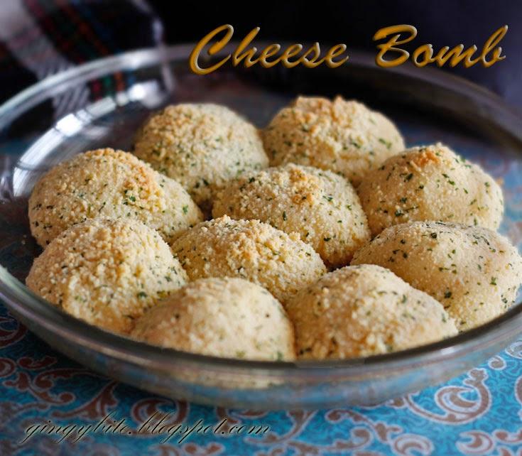 Greek Yoghurt Cheese Bombs