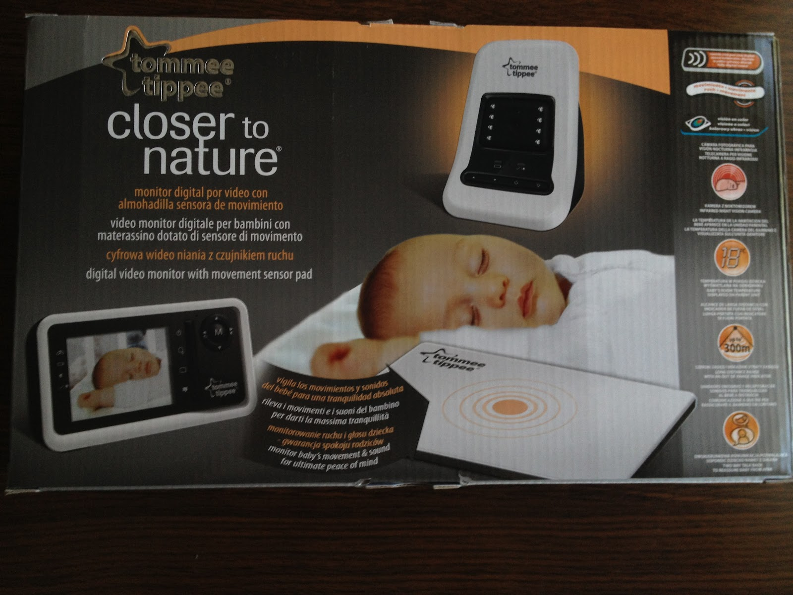 tommee tippee sensor monitor instructions