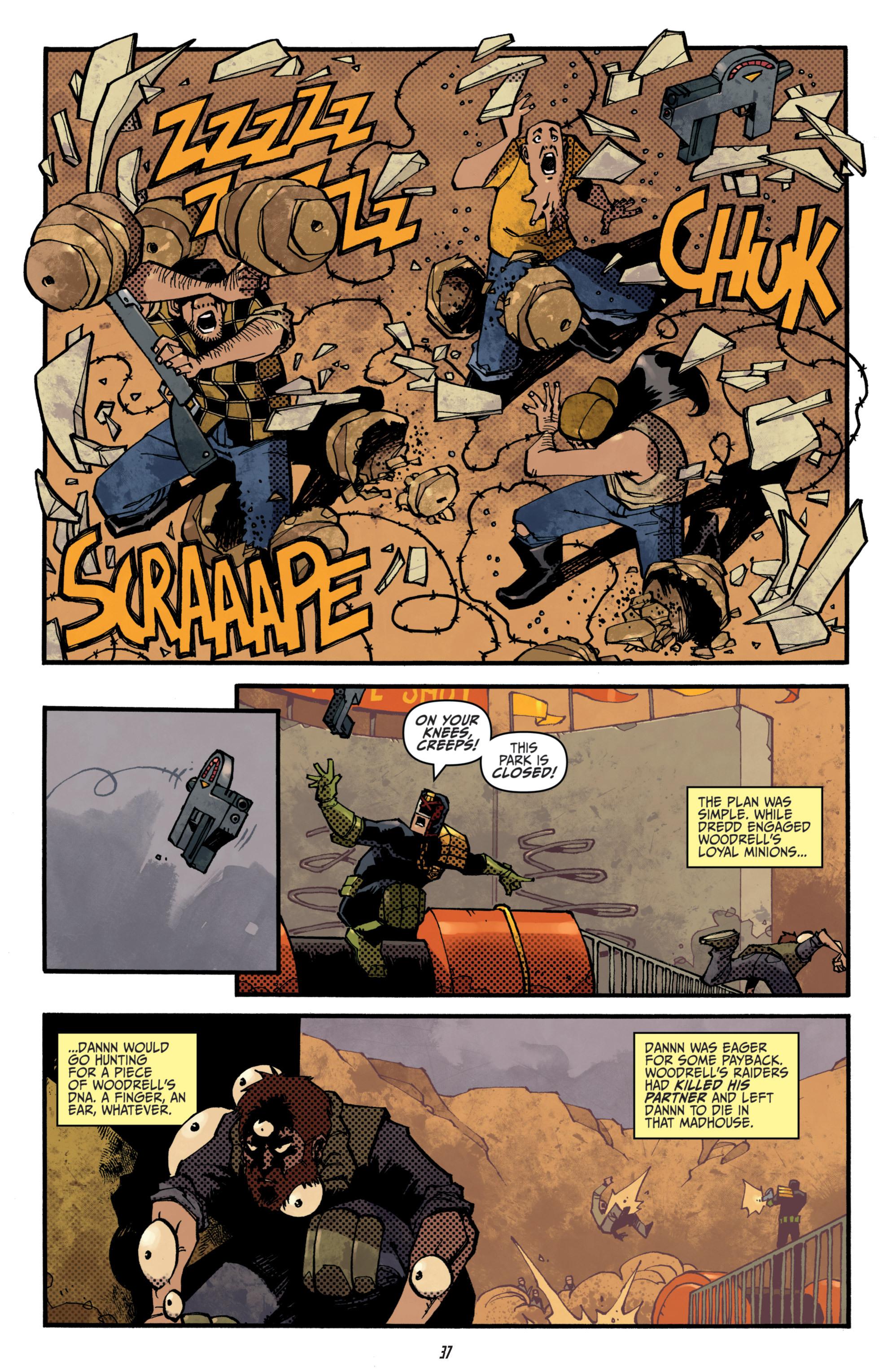 Read online Judge Dredd (2012) comic -  Issue # _TPB 3 - 37
