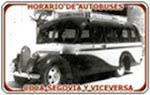 HORARIOS AUTOBUSES