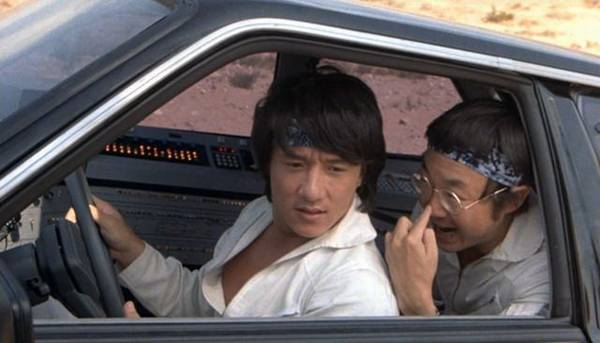 Jackie Chan Movie Race Car Driver