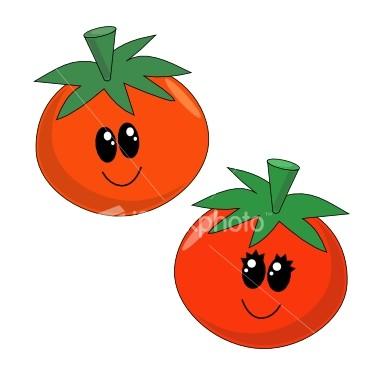 Cute Cartoon Tomato
