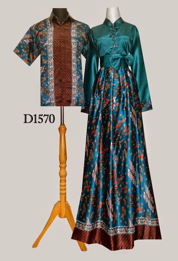 Baju Batik Couple D1570