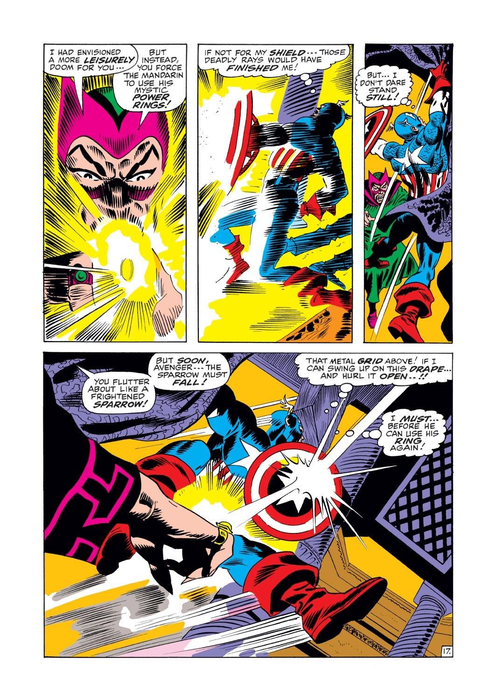 Captain America (1968) Issue #125 #39 - English 17