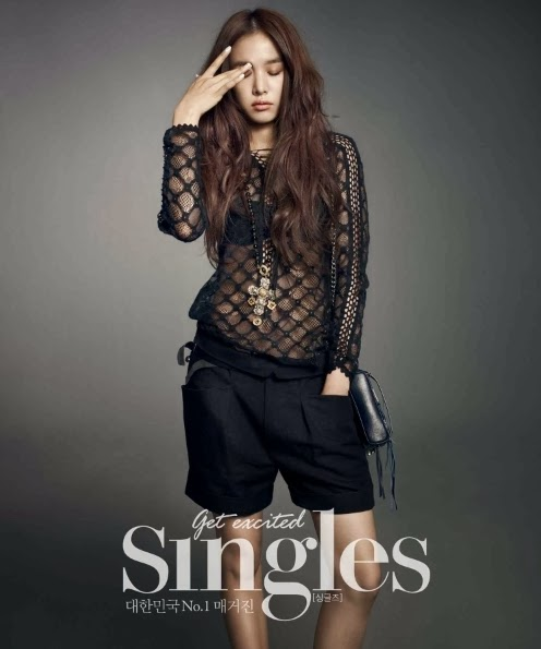 Jo Yoon Hee - Singles Magazine February Issue 2014