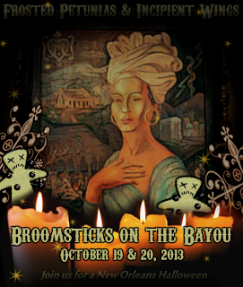 Broomsticks on the Bayou